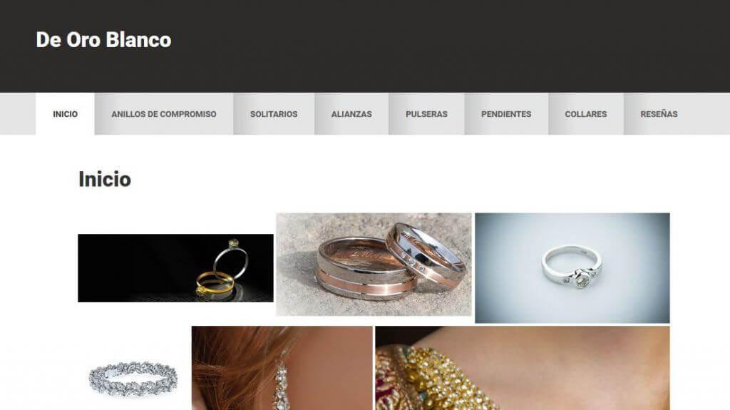 DeOroBlanco - venta de joyas de oro