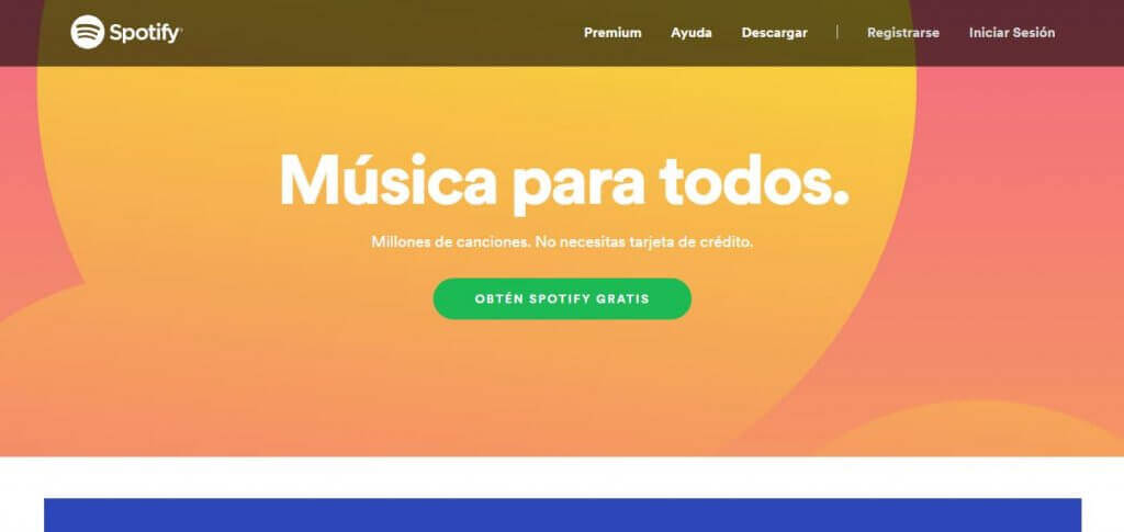 Spotify CTA