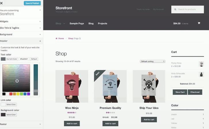 Ventajas de Storefront como tema de WooCommerce