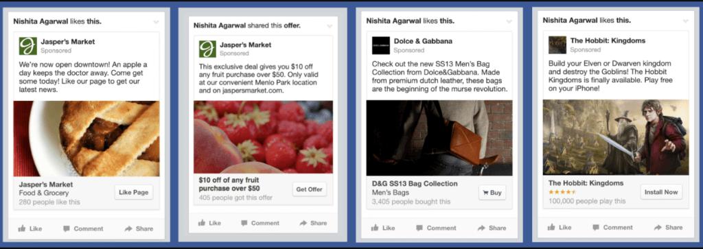 Anuncios en Facebook Ads